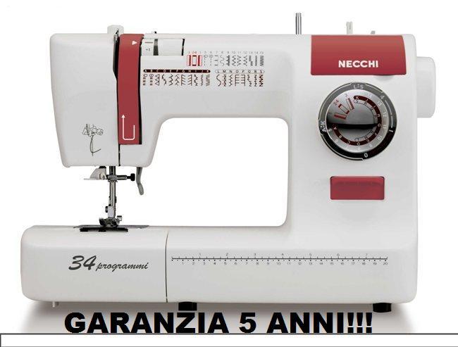 Macchine per da cucire necchi nesp34 macchina da cucire for Pedale elettrico per macchina da cucire