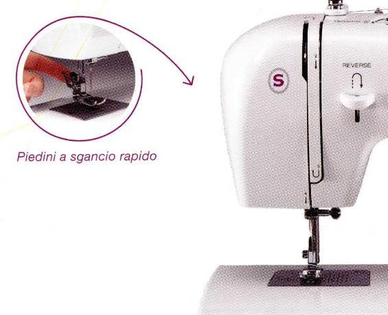 Singer tradition 2263 piedino tagliacuce set aghi for Singer tradition prezzo