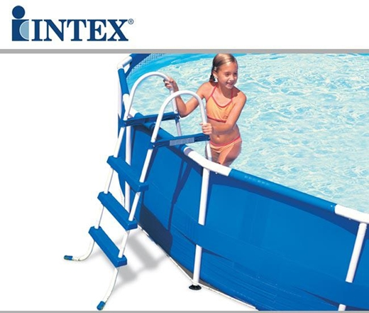 Scaletta per piscina 132 cm intex 58975 28063 colombo for Intex piscine catalogo