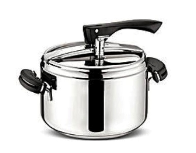 Pentola a pressione lagostina bravissima 3 5 5 7 litri acciaio cucina vapore ebay - Pentola x cucinare a vapore ...