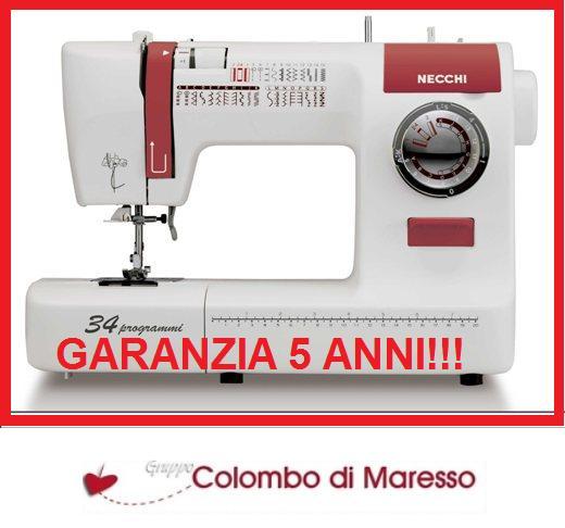 Macchine per cucire necchi nesp34 macchina da cucire ebay for Macchina cucire offerta