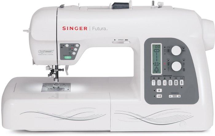 macchina da cucire e ricamare singer futura xl550