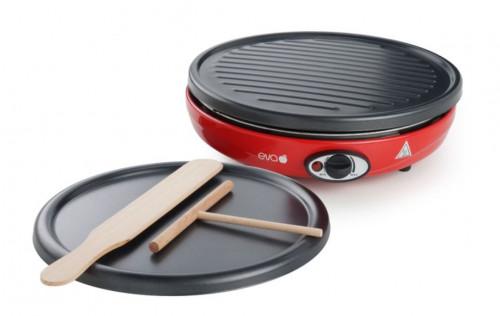 Macchina per crepes e grill 2 in 1 Eva 022767