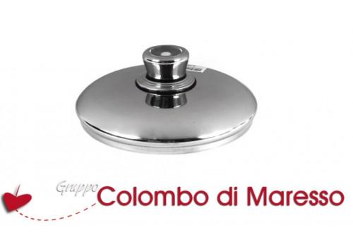 Coperchio acciaio inox con termostato cookware 18cm