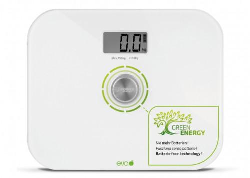 Bilancia pesapersone digitale senza batterie EVA 033699