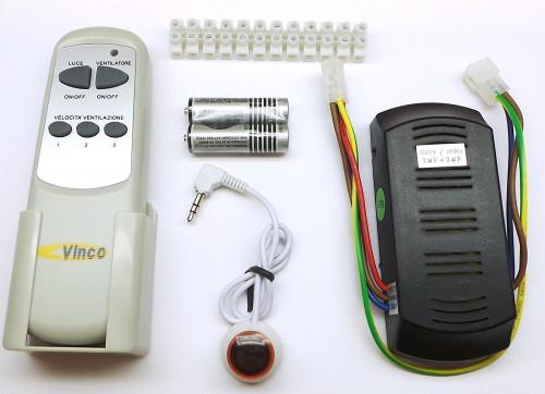 Kit telecomando Vinco 70940 per ventilatori a soffitto