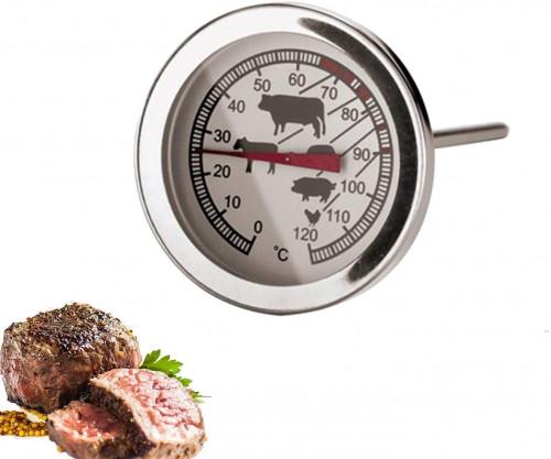 Termometro per carne in acciaio inox
