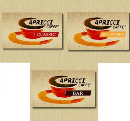100 capsule Ariete Capricci 100% Arabica, Bar, Classic