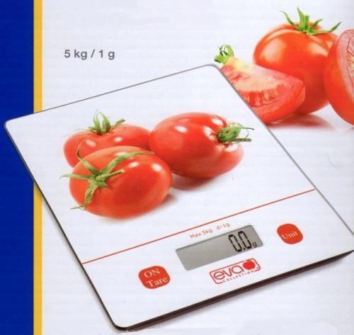 Bilancia da cucina digitale EVA Pomodoro