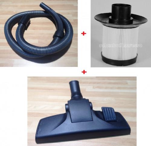 Kit tubo + filtro hepa + spazzola Aspirapolvere Necchi serie NH9000