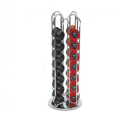 Portacapsule in acciaio A Modo Mio 28 posizioni dispenser Macom 830