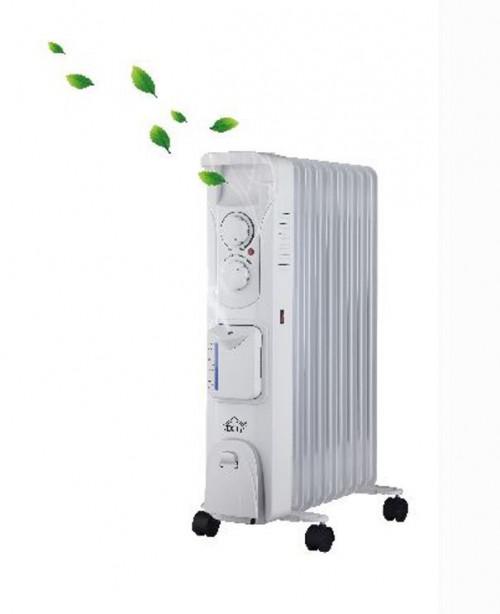 Radiatore ad olio 9 elementi con umidificatore DCG RAU3809