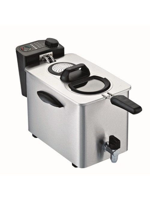 Friggitrice professionale 4 litri RGV Fry Type 4/N con rubinetto