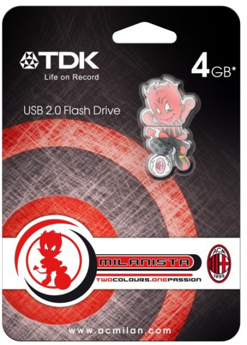 Chiavetta USB Milan mascotte