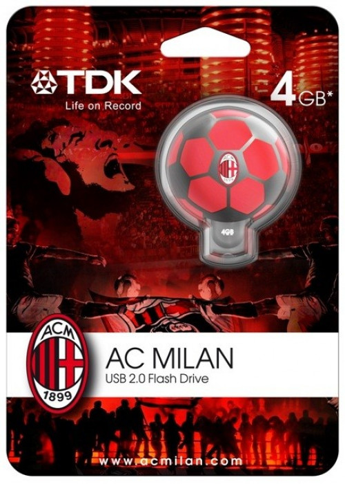 Chiavetta USB Milan pallone