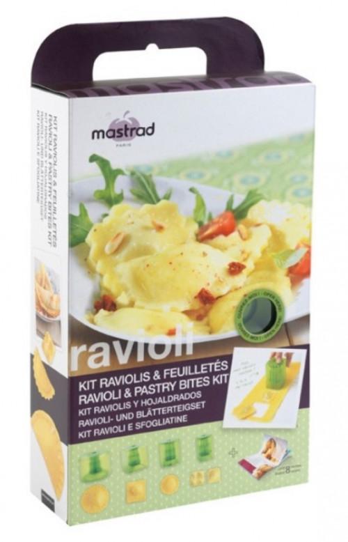 Kit formine per ravioli e sfogliatine Mastrad F26460