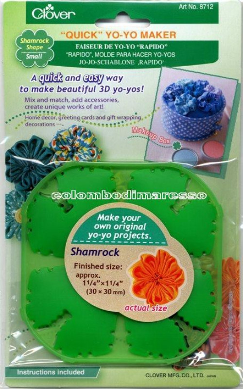 Dispositivo crea yoyo small shamrock Clover Art. 8712